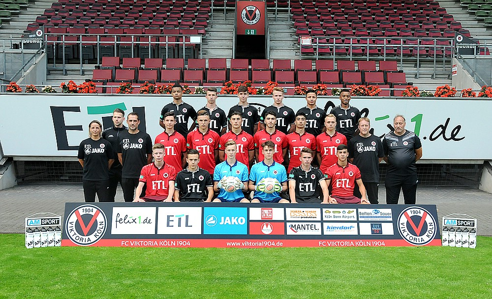 Teamfoto U Viktoria Koln